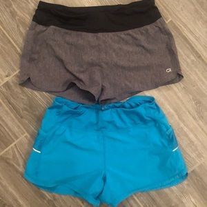 Athleta and Gap fit shorts set size small